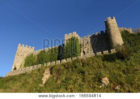 Castle of Montemor o velho Beiras region Portugal
