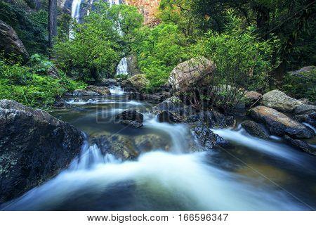 klong lan water falls kamphengpetch northern thailand