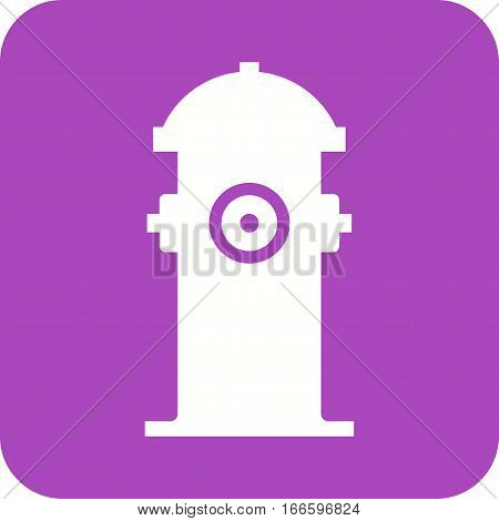 Hydrant, fire icon vector image. Can also be used for firefighting. Suitable for mobile apps, web apps and print media.