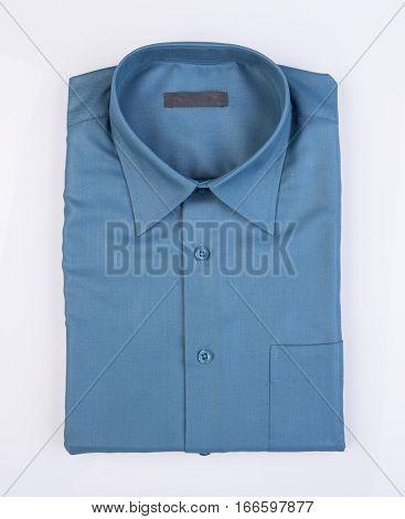 Shirt Or Men Dress Shirt On Background.