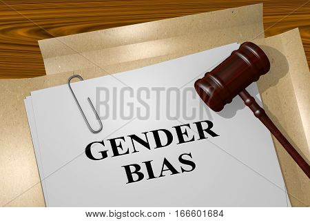 Gender Bias  - Legal Concept