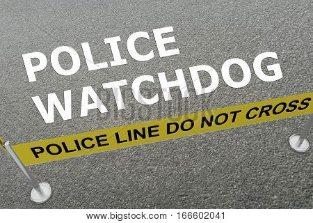 Police Watchdog Concept