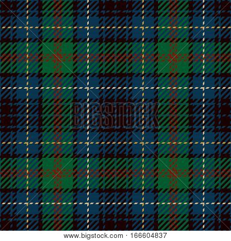 Tartan Seamless Pattern Background. Red Blue Black and Green Plaid Tartan Flannel Shirt Patterns. Trendy Tiles Vector Illustration for Wallpapers.