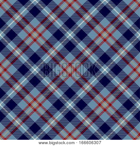 Tartan Seamless Pattern Background. Red White Blue and Camel Beige Plaid Tartan Flannel Shirt Patterns. Trendy Tiles Vector Illustration for Wallpapers.