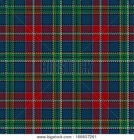 Tartan Seamless Pattern Background. Red Black Green Blue and Beige Plaid Tartan Flannel Shirt Patterns. Trendy Tiles Vector Illustration for Wallpapers.