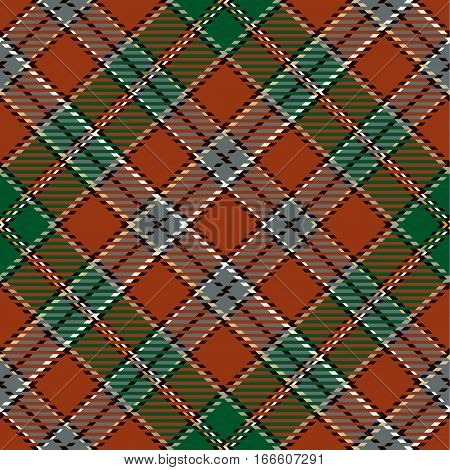 Tartan Seamless Pattern Background. Red Black Green Gray and Camel Beige Plaid Tartan Flannel Shirt Patterns. Trendy Tiles Vector Illustration for Wallpapers.
