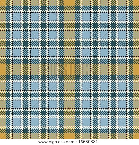 Tartan Seamless Pattern Background. Yellow Black Blue and White Plaid Tartan Flannel Shirt Patterns. Trendy Tiles Vector Illustration for Wallpapers.