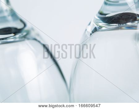 Glass Blurry Abstraction