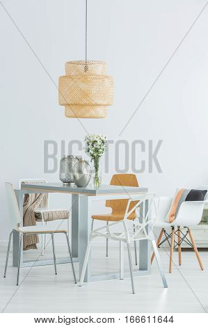Functional Communal Table And Chairs
