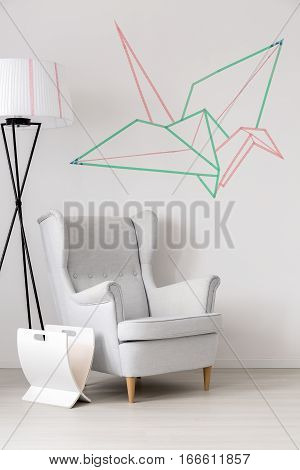 Armchair In Origami Room