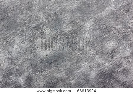 Empty abstract acrylic brush strokes painted canvas