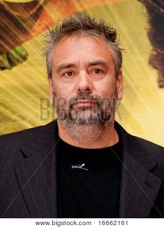 MOSCOW - JUNE 25: Director Luc Besson. Press Conference. 32st MIFF at Khudozhestvenny Cinema. June 25, 2010 in Moscow, Russia.