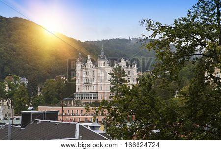 Karlovy Vary (Carlsbad) . Czech Republic .