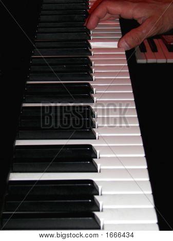 musikalische Tastatur