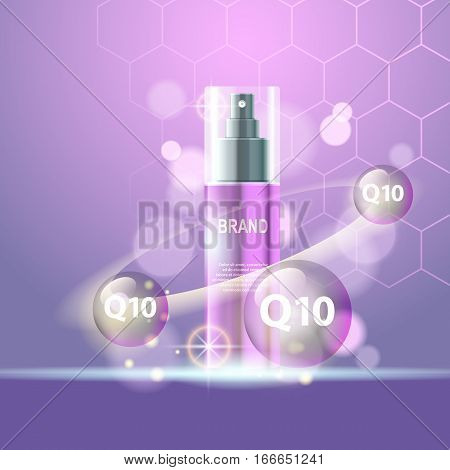 Realistic cosmetic tubes and bottles for yout projects