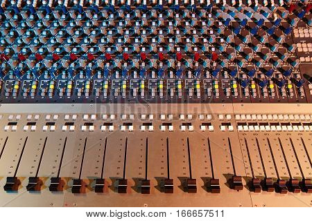 equipment for sound mixer control electornic device.