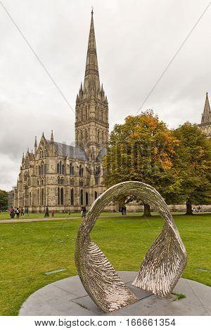 Salisbury UK - October 2016: