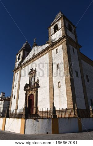 Igreja de Santa Maria da DevesaChurch Castelo de Vide Alentejo region Portugal