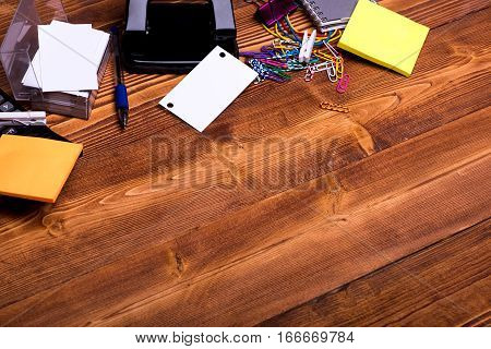 Stationery: Notebook, Clips, Pen, Blanks, Wallet, Rubber, Hole Puncher, Calculator