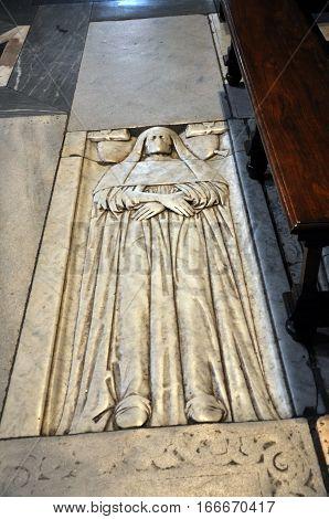 Tomb In Basilica Of Santa Maria Del Popolo