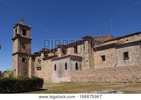 Church Lady Rocamador Valencia de Alcantara Caceres province Extremadura Spain