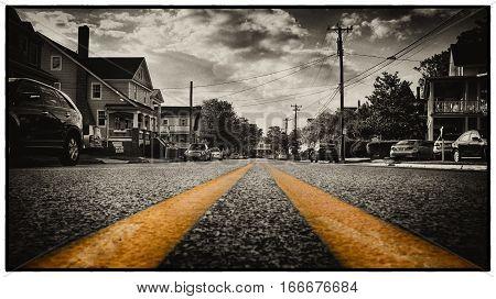 Yellow Street Markings