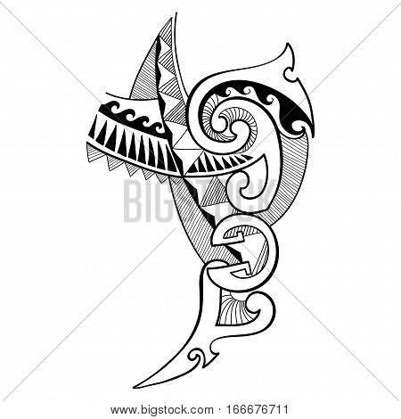 Maori Lines Tattoo Images Illustrations Vectors Free