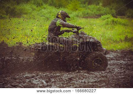 ATV Competition.Championship is well known for one of the most challenging