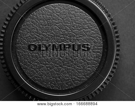 Olympus Lens Cap In Tokyo