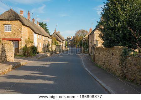 Abbotsbury Village is in the County of Dorset,UK
