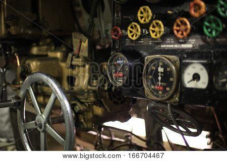 Vintage Control Room