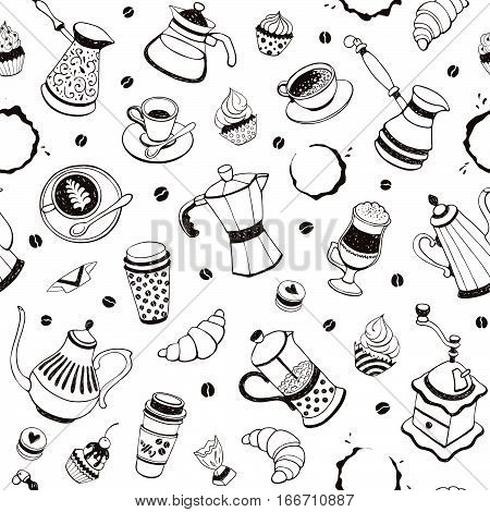 Coffee Time Pattern