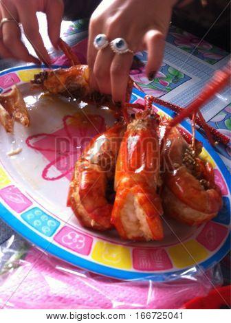 Food Restaurant Snack Crabs Lobster