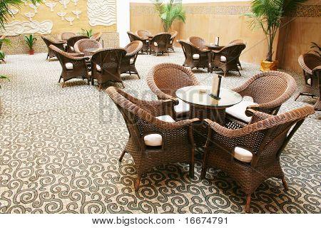 coffee bar in hotel