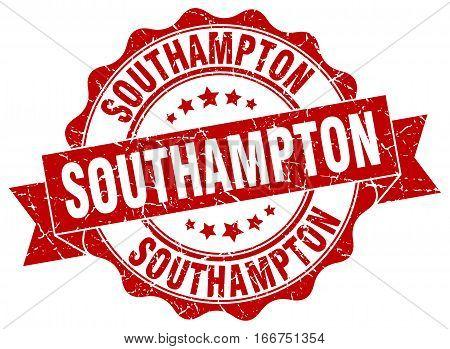 Southampton. round isolated grunge vintage retro stamp