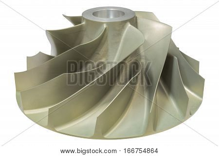 Gas turbine bladeIsolate object of gas turbo bladefunction of gas compressor to compress natural gas to high pressue.