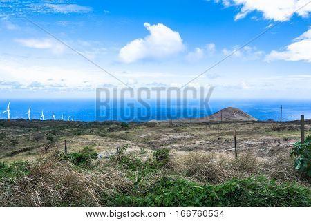The coast of Kahikinui in Maui, Hawaii