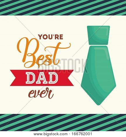 best dad ever happy fathers day letters emblem and related icons image vector illustration design