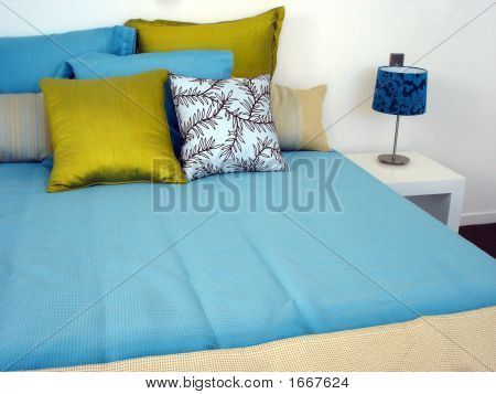 Happy Blue Bedroom
