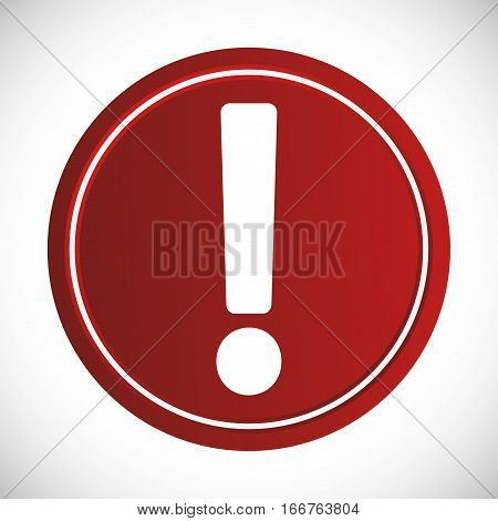 forbidden sign icon image vector illustration design