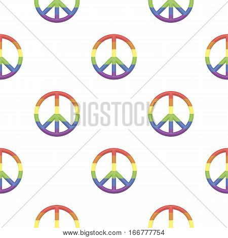 Gay icon cartoon. pattern gay icon from the big minority, homosexual cartoon. - stock vector