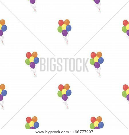 Balloon icon cartoon. pattern gay icon from the big minority, homosexual cartoon. - stock vector