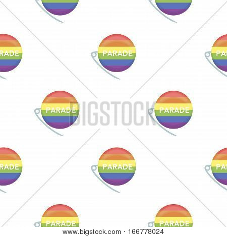 Gay parade icon cartoon. pattern gay icon from the big minority, homosexual cartoon. - stock vector