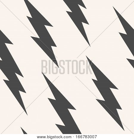 Flash, lightning bolt seamless pattern. Background with thunderbolt