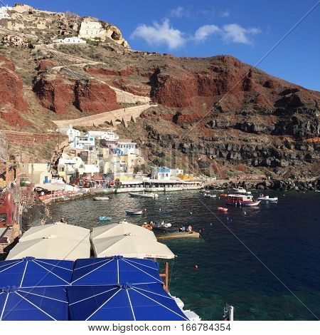 Santorini Greece Romantic Weeding Honeymoon Island Love Sea