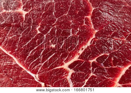 Texture of meat. Raw beef steak background.