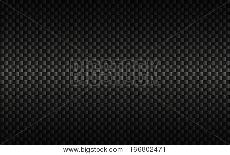 Carbon black abstract background modern metallic look vector illustration