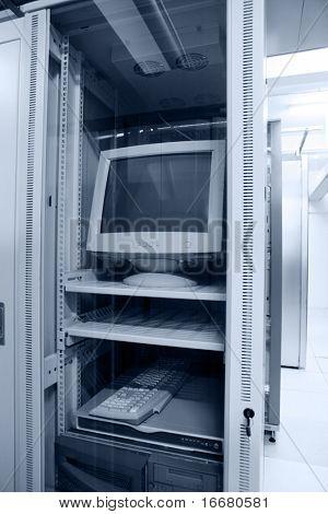 computer in data center