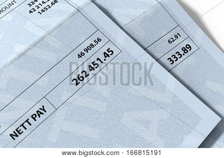 Income Inequality Paychecks