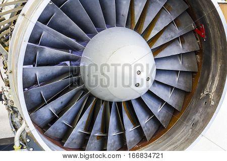 Turbine Blades of an Airplane Jet Engine II
